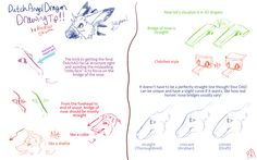 Dutch Angel Dragon Drawing Tip~! by ShizukaOkamichan.deviantart.com on @DeviantArt