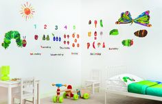 Very Hungry Caterpillar wall stickers