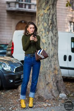 Milan SS 2017 Street Style: Diletta Bonaiuti