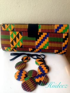 Kente purse ~Latest African Fashion, African Prints, African fashion styles, African clothing, Nigerian style, Ghanaian fashion, African women dresses, African Bags, African shoes, Nigerian fashion, Ankara, Kitenge, Aso okè, Kenté, brocade. ~DK