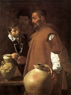 Diego Velazquez - The Waterseller of Seville (oil on canvas, 1623)