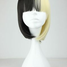 Half & half wig