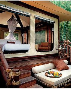Glamping in Thailand at the Four Seasons.