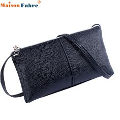 Fabulous Maison Fabre Women Leather Bifold Purse Zipper Clutch Handbag Wallet Shoulder Bag J05 #CLICK! #clothing, #shoes, #jewelry, #women, #men, #hats, #watches