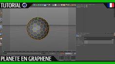Tuto Débutant Cinema 4D | Créer une Sphère Avec un Motif D'hexagones / G...