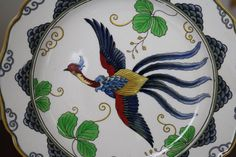 Pair of antique Royal Doulton English chinoiserie by WWBdesign, $95.00