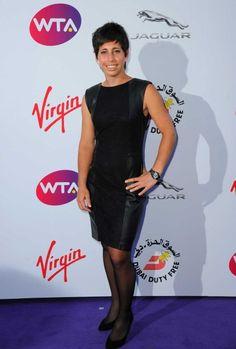 Spotted: Carla Suarez Navarro at the #WTA pre #Wimbledon party. #dressedtoimpress