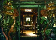 [New] The 10 Best Home Decor (with Pictures) - I really dont know how I havent been to tour this house. This man has my heart! Inside the legendary Beverly Hills estate of the eclectic Tony Duquette Architecture Restaurant, Interior Architecture, Opium Den, Thai House, Beverly Hills Houses, Up House, Green Rooms, Interior Exterior, Bohemian Decor