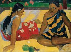 Parau Api, par Paul Gauguin