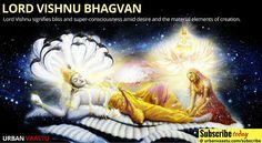 #Spirituality Insight : Lord Vishnu #Lord #Vishnu signifies bliss and super-consciousness amid desire
