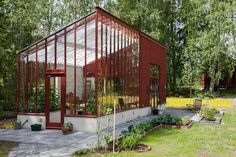 "Visit our site for more details on ""greenhouse"". It is actually an excellent location to get more information. Build A Greenhouse, Greenhouse Gardening, Greenhouse Wedding, Outdoor Pergola, Outdoor Spaces, Dream Garden, Home And Garden, Simple Interior, Glass House"