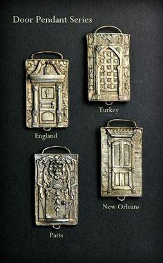 New Work Door Pendants by Christi Anderson