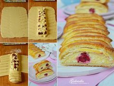 One of the most delicious cakes ! No need to wake up, so it can be done quickly and easily. Cookie Recipes, Dessert Recipes, European Dishes, Strudel, Yummy Cakes, Vanilla Cake, Good Food, Sweets, Bread