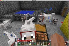 Minecraft dogs Minecraft Wolf, Minecraft Stuff, Minecraft Party, Minecraft Tutorial, Cute Crafts, Best Games, Craft Ideas, Lol, Cake