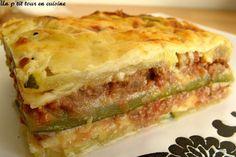 Recette de Lasagnes de courgettes sans feuilles de lasagnes : la recette facile