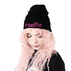 #selfie beanie. Must have! So cool!