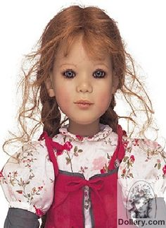 A doll named Jana created by Annette Himstedt in 2001  #doll #Himstedt