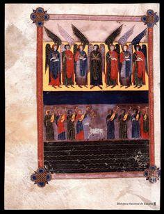 Beato de Liébana. Beato de Liébana , Santo — Manuscrito — 1047  423