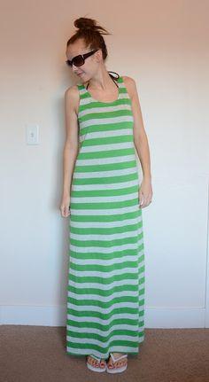 simple-sew maxi dress