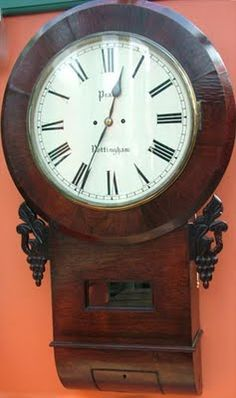Antique Wall Clocks Large Picture