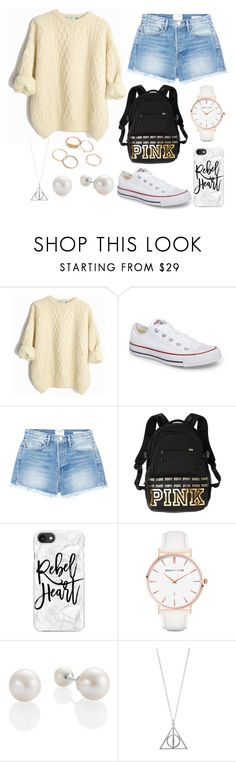 """""""Plane"""" by torilee-03 ❤ liked on Polyvore featuring Converse, Frame, Victoria's Secret PINK, Casetify and Abbott Lyon"""