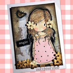 #vintage #gorjuss #atc #spring #fairies #inkypinkyboo #mixedmedia #mixedmediaart #mixedmediaartist #arting #butterfly