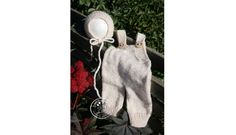 overalls and bonnet set - newborn photo prop  bonetka i kombinezon do sesji foto 8-9 months by SweetStrawberriesAda on Etsy