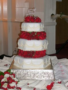 Traditional Wedding Cake, #wedding #cake