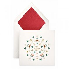Smythson holiday greeting cards.  Just bought some.