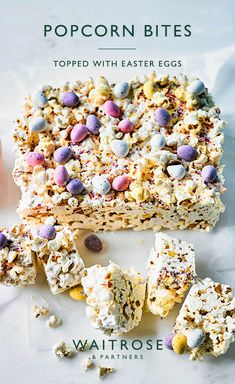 Easter Snacks, Easter Treats, Easter Recipes, Kid Desserts, Delicious Desserts, Dessert Recipes, Easter Desserts, Chocolate Traybake, Waitrose Food