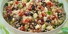 Quinoa-Salat, low carb Diät rezept