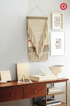 Fringe Is In. And So Is Fabric Art. Ride The Trend With This New