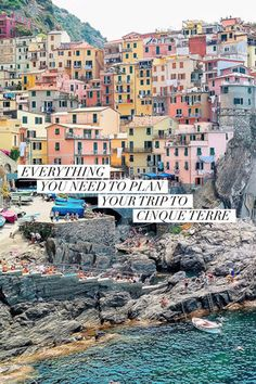 The perfect 3 day Cinque Terre itinerary