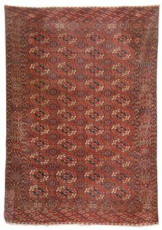 Duesseldorfer Auktionshaus Turkmene ca. 300 x 207 cm