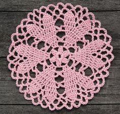 crochet doily #crochet #doily