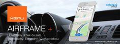 Držiaky do auta Kenu Airframe - Minimalistické univerzálne držiaky s pripevnením do mriežky auta.