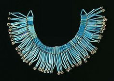 Egyptian Faience necklace 332-30 BC