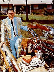 Webb Pierce's Bonneville is now a top attraction at the Country Music Hall of Fame.