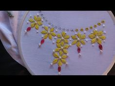 Hand Embroidery and Its Types - Embroidery Patterns Hand Embroidery Dress, Basic Embroidery Stitches, Hand Embroidery Videos, Blackwork Embroidery, Types Of Embroidery, Embroidery Patterns Free, Learn Embroidery, Hand Embroidery Designs, Embroidery Techniques