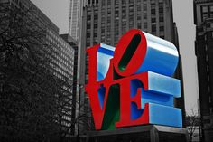 Love Park; Philadelphia, PA; Dec 2011