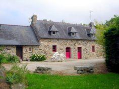 Alloggio Agriturismo in Plomodiern, nel dipartimento del Finistère in penisola di Crozon #bretagna