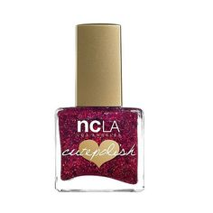 Ncla  CutePolish Nail Vlogger Red Glitter Nail Polish . fl oz (€11) ❤ liked on Polyvore featuring beauty products, nail care, nail polish, nail vlogger, ncla nail polish, ncla, shiny nail polish and ncla nail lacquer