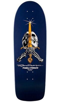 Powell Peralta Bones Skateboard.