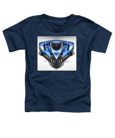 Toddler T-Shirt - Blue Car 01