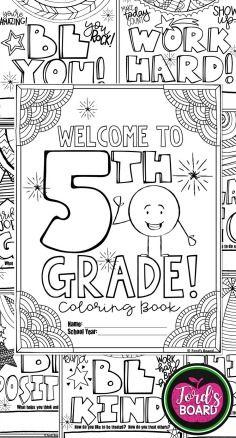 5th Grade Back To School Activities 5th Grade Back To School