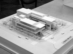 단아건축사사무소 Concept Models Architecture, Architecture Presentation Board, Architecture Concept Drawings, Architecture Sketchbook, Facade Architecture, School Architecture, Koshino House, Building Design Plan, Hospital Design