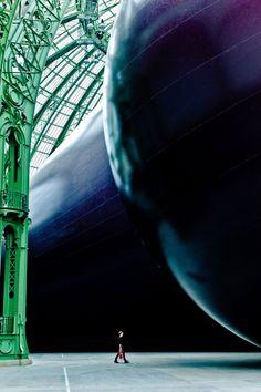 ANISH KAPOOR • Leviathan • 2011 • Gran Palais, Paris • anishkapoor.com