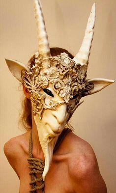 horned god? Amazing Mask