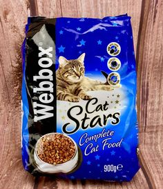 Pets Choice Webbox Cat Stars Complete Food for sale online Fresh Chicken, Snack Recipes, Snacks, Dental Hygiene, Cat Food, Chips, Foods, Pets, Ebay