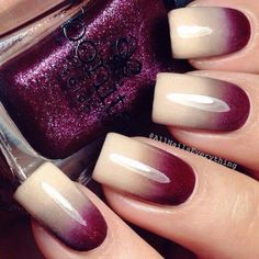 Inspiration discovered by Tori Rutledge. #nails #ombre @bloomdotcom